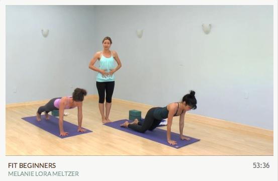 Fit Beginner Vinyasa Online Yoga Class MyYogaWorks