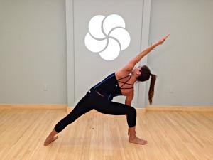 Extended Side Angle, Parsvottanasana, MyYogaWorks, Yoga Videos Online