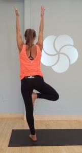 Tree pose, Vrksasana, Yoga Pose, MyYogaworks, Online yoga classes