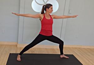 Yoga Classes Online, Warrior 2, Virabhadrasana 2, Yoga Videos Online