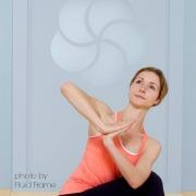 Melanie Lora Meltzer MyYogaWorks online yoga Photo by Fluid Frame